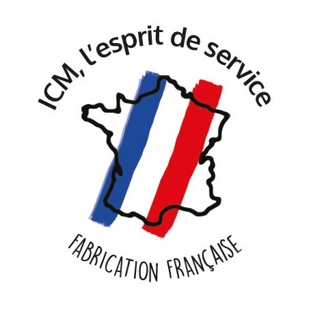 Logo ICM, l'esprit de service