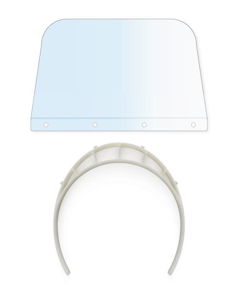 Visière transparente plexiglas