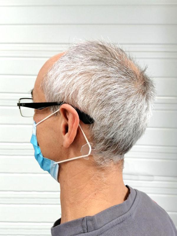 Reglage masque transparent